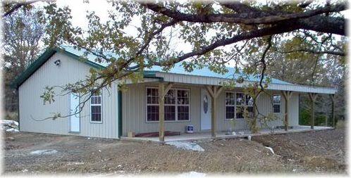 Ranch Styles Pole Barn Home | Pole Barn Constructed House