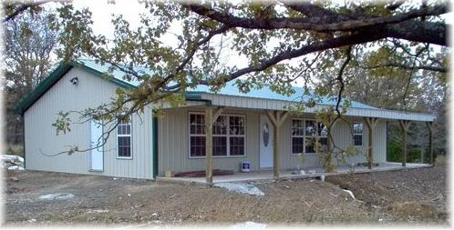 Ranch Styles Pole Barn Home | Pole Barn Constructed House