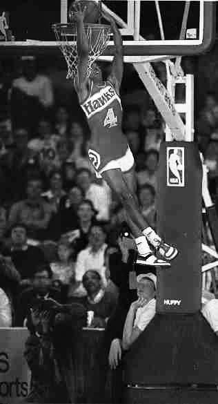"""Big guys shouldn't judge the dunk contest."" • Spud Webb"