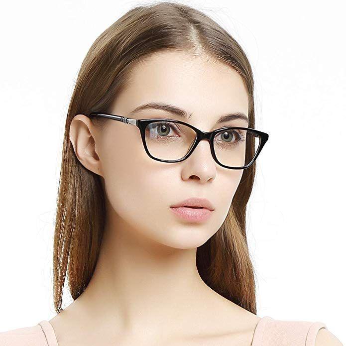 2376ef206b4 OCCI CHIARI Women Casual Eyewear Frames Non-Prescription Clear Lenses  Eyeglasses Review