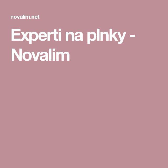 Experti na plnky - Novalim