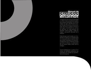 Manual De Identidada Corporativa Senal Grafica