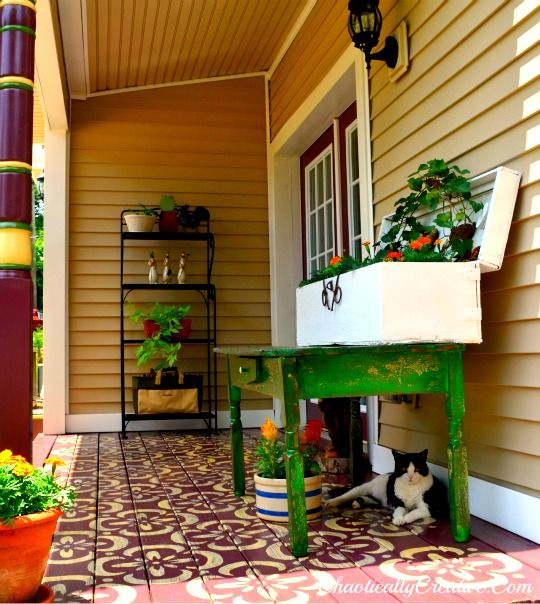Back Porch Design Ideas: 49 Best Images About Country Porch Decorating Ideas On