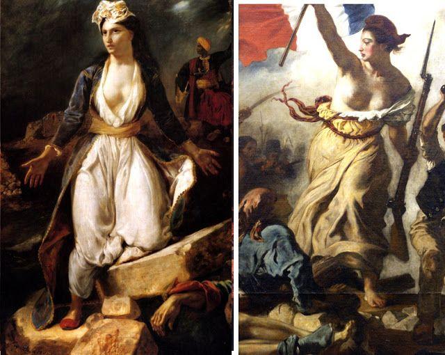 Dare-d'Art: DELACROIX, La liberté guidant le peuple, 1830