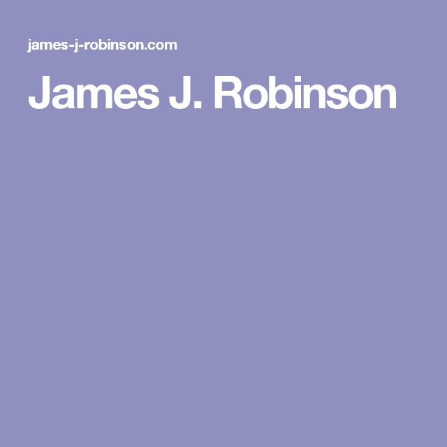 James J. Robinson