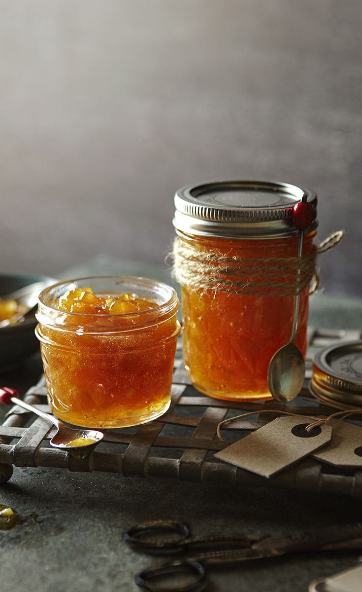 Delicately spiced with fresh root ginger, this sophisticated, glittery jam is sure to be a winning gift.