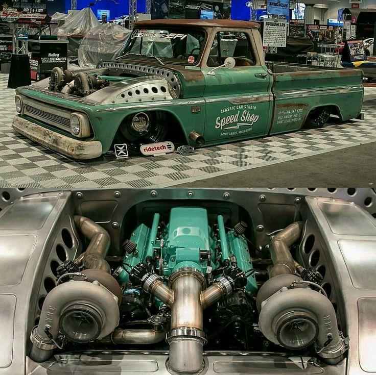 Nice job on the motor & turbos!