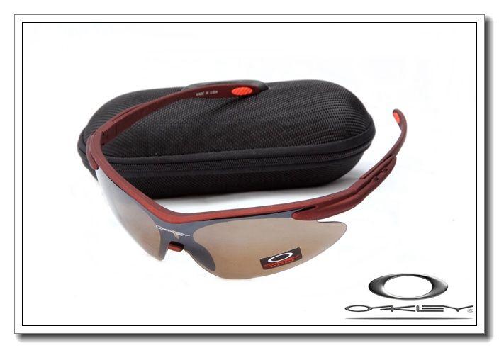 Oakley m frame sunglasses matte team cardinal / clear $13.00