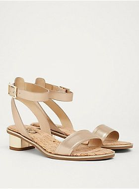3e8a99a557cb A low block heel has a slight sheen that accents this goes-with-everything  ankle strap sandal.Circus by Sam Edelman 2018 Summer Collection  available  in ...