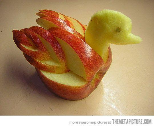 Apple duck