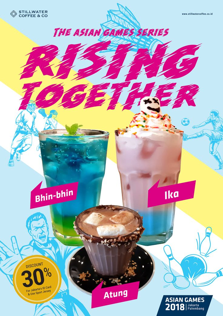 Rising Together for Promo Menu August 2018 Poster to