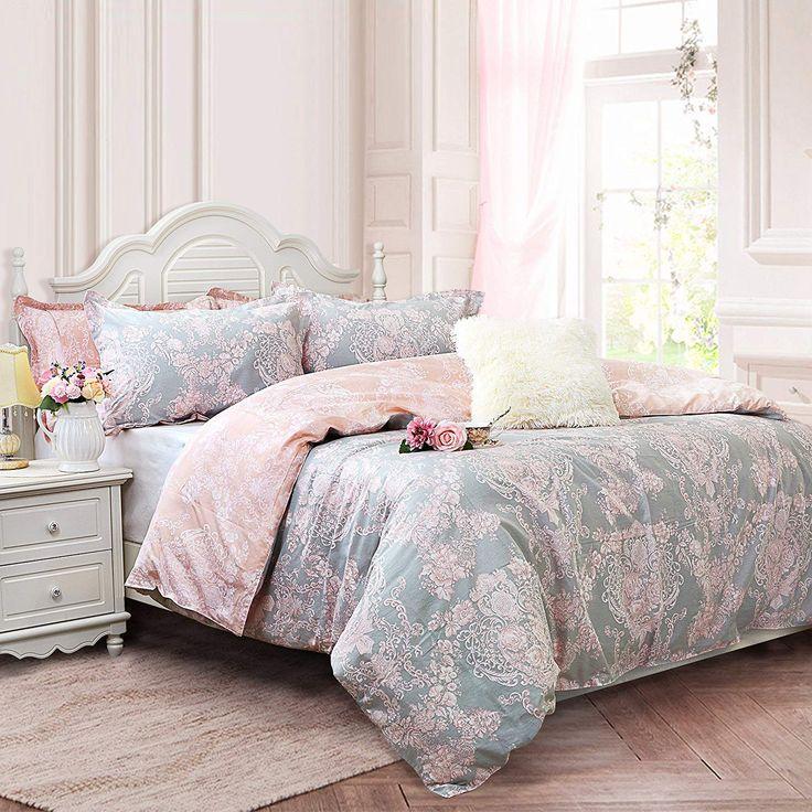 Brandream blush pink bedding sets full size
