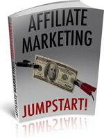 Affiliate Marketing Jumpstart tells you exactly how to make your marketing program run at full speed! Everything you need to know to jumpstart your business is contained herein. - Download for FREE!: http://freebookoftheday.com/1e.php?li=fbotd-onlinebiz&p=615&b=affmarketingjumpstart