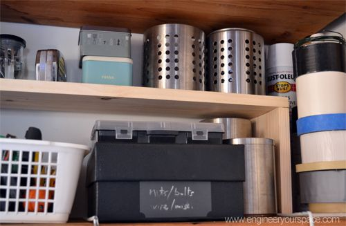 Diy Shelf Inserts For Extra Space Diy Home Pinterest