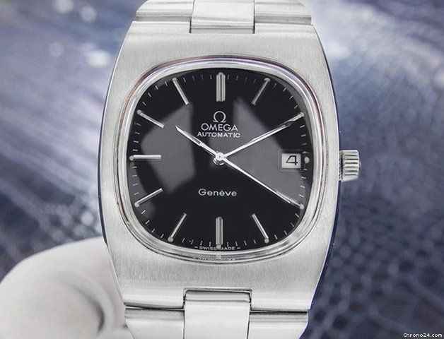 Omega Genève ad: $1,606 Omega Vintage Swiss Omega Geneve Stainless Steel Men's... Steel; Automatic; Condition 1 (mint); Year 1960s; Location: United States, CA, LOS ANGELES