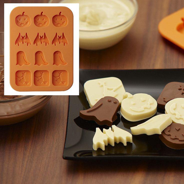 halloween chocolate mould lakeland