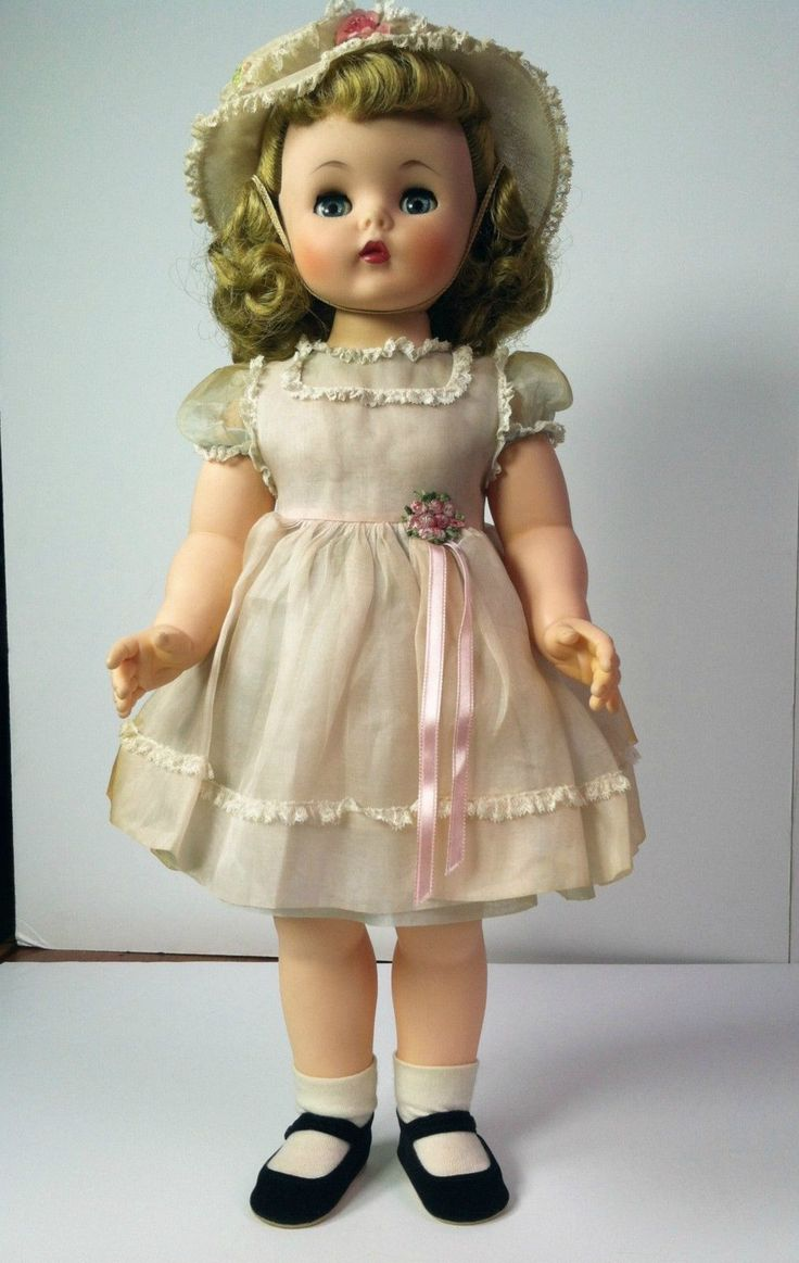 Madame Alexander 1958 Quot Kelly Quot Doll Ebay Vintage Madame