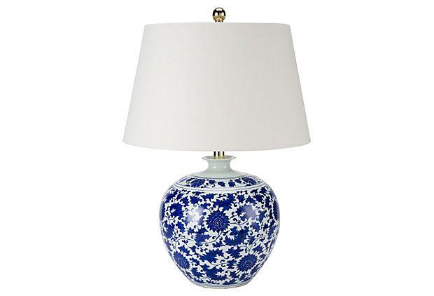 table lamps white tables white table lamp white porcelain blue and. Black Bedroom Furniture Sets. Home Design Ideas