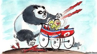 Only China can make North Korea denuclearized. That's why China should participate in the NK sanctions of UN Security Council.