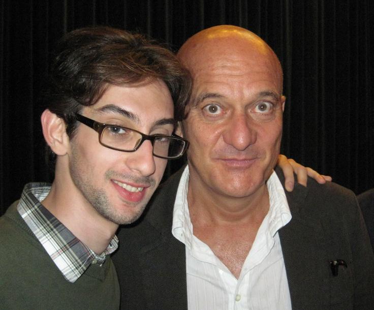 Io e Claudio Bisio
