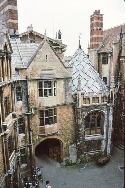 Hertford College, Oxford - who wouldn't want to attend classes here.