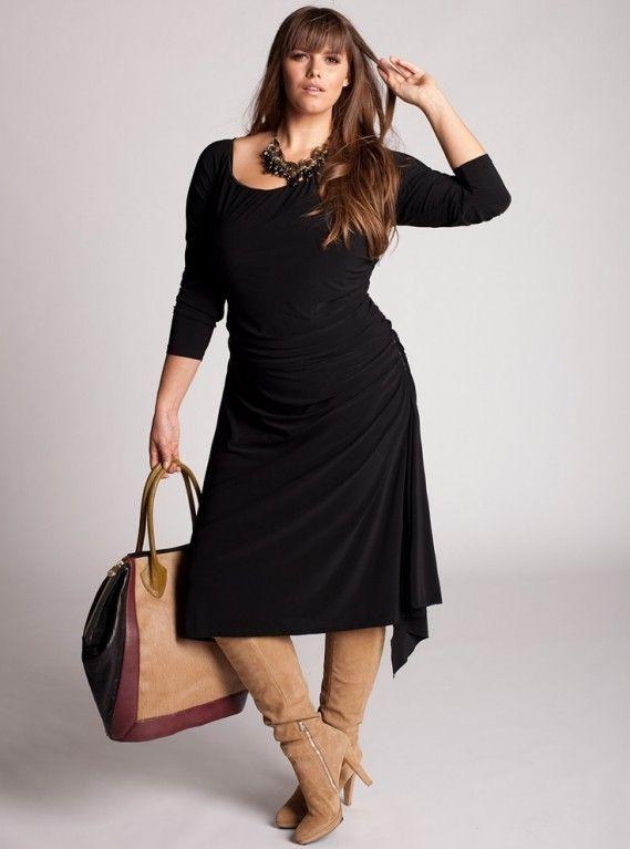 Perfect plus size black dress