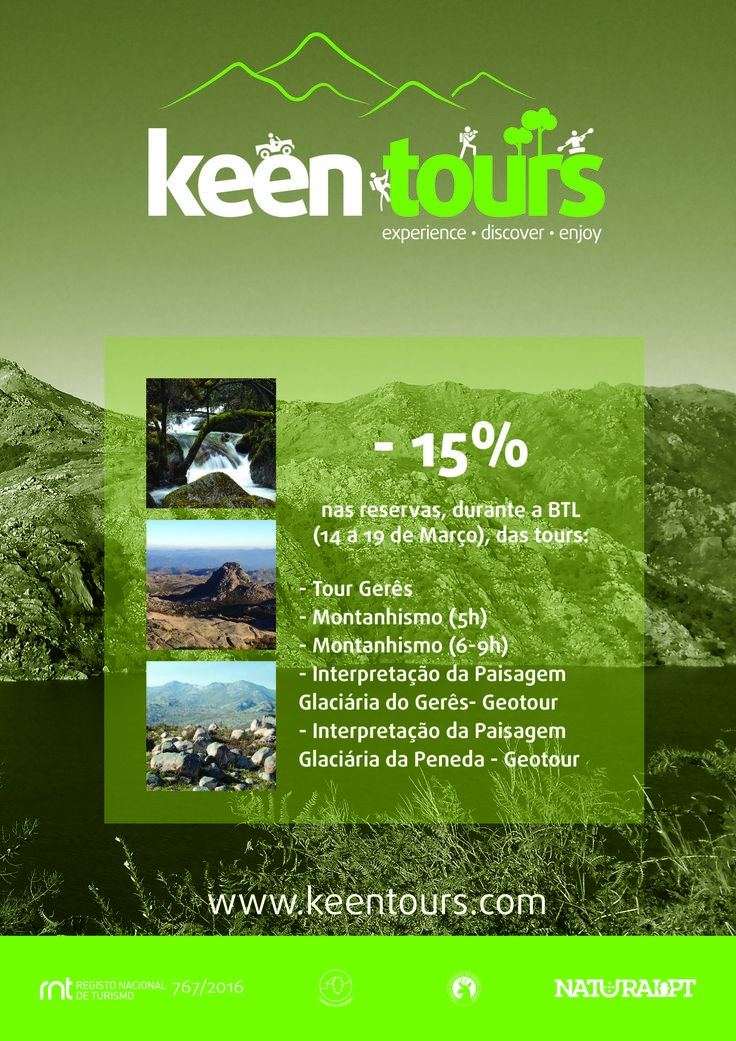 You can book these 5 tours with 15% off until 19/03!  Keen Tours