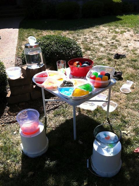 Play Create Explore: Kool Aid Colored Ice Cubes