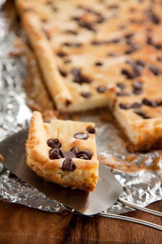 Chocolate Macadamia Cheesecake Bars on PaulaDeen.com