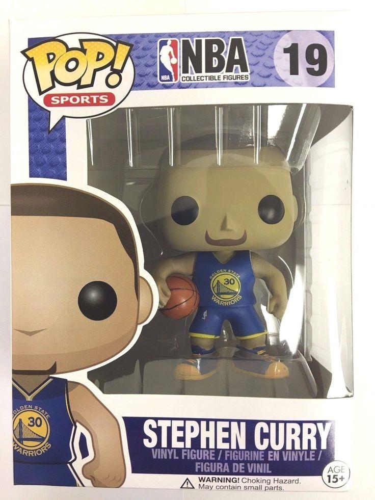 Authentic Funko Pop NBA Warriors Stephen Curry Away Blue Jersey Vinyl Figure NEW