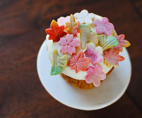 Japanese sweet + cup cakeSugar Flower, Cupcakes Decor, Food, Cups Cake, Flower Cupcakes, Japanese Cupcakes, Cupcakes Rosa-Choqu, Japan Cupcakes, Carrots Cupcakes