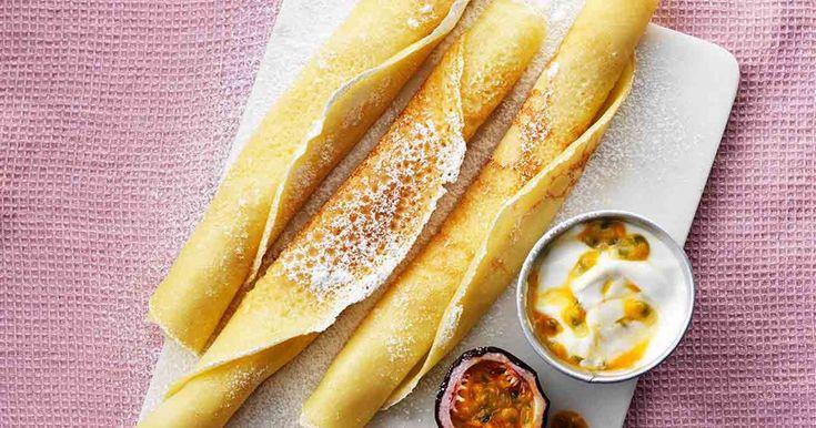 Glutenfria pannkakor | arla.se | majsmjöl, rismjöl, potatismjöl, naturligt glutenfria, naturligt glutenfritt,