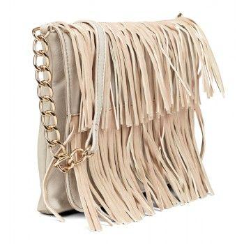 Friis & Co. Handtasche mit Fransen