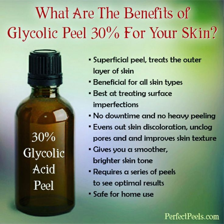 My 30% Glycolic Acid Peel (which can be diluted to a lesser strength) is unlike your typical glycolic peels. It comes in unique gel solution that enhances the effectiveness of the product, assures safe/easy application and includes additional skin soothing ☺️