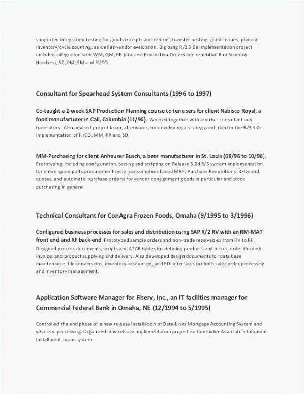 47 Best Of Stock Of Distribution Warehouse Resume Examples