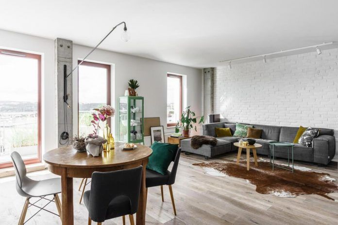 Fabryka Wnętrz designed a creative apartment located in the Polish city of Gdansk - CAANdesign | Architecture and home design blog