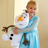 Disney Store Large/Jumbo 22″ Olaf the Snowman Plush Stuffed Toy Doll from Frozen