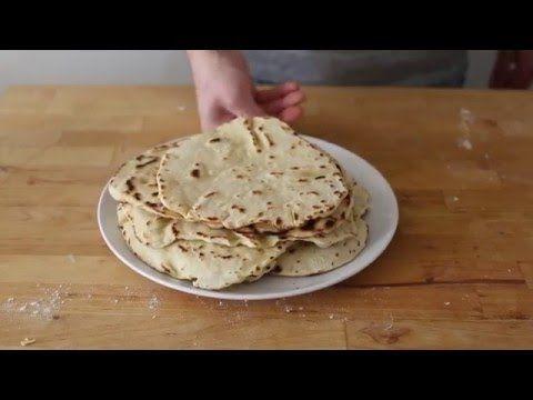 : Video: hoe maak je tortillawraps?