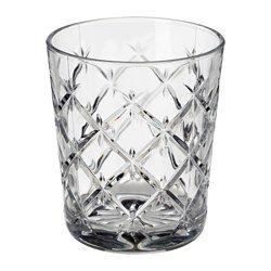 IKEA - FLIMRA, Glas, Durch die schlichte, gerade, niedrige Form eignet sich das Glas bestens für kalte Getränke wie Cocktails ohne Eis usw.