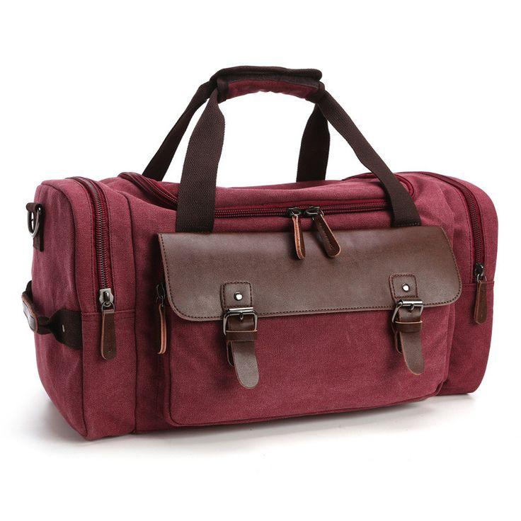 Travel Bag Student Shoulder Messenger Hand baggage bag Designer casual canvas handbag fashion large capacity luggage bag for men