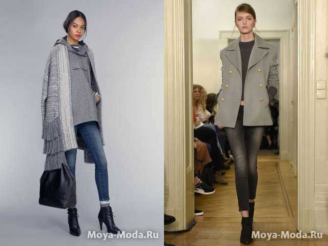 Модные джинсы в обтяжку осень-зима 2015-2016