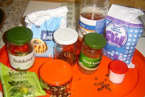 Nálev na okurky   recept + hanácké rychlokvašky