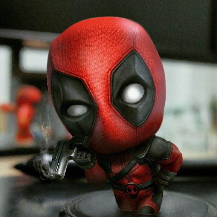 Deadpool. Soooo cute
