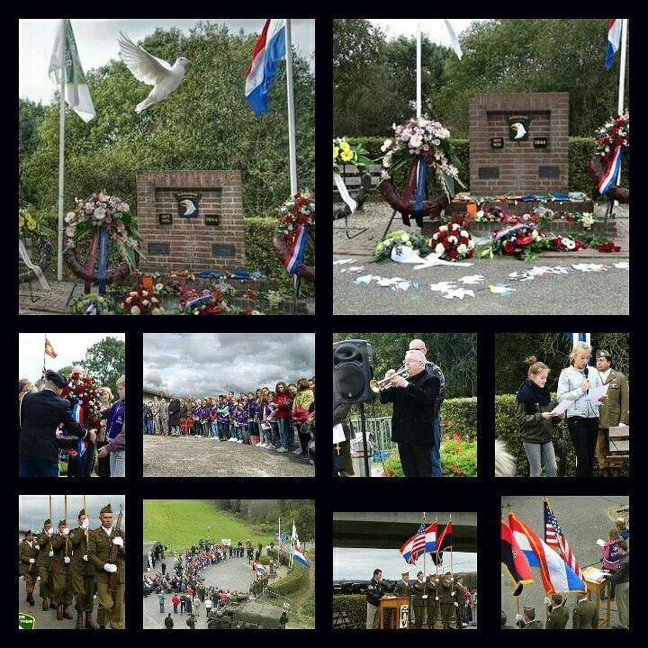 Kleine impressie Herdenking  101st Airborne Division te Heteren.