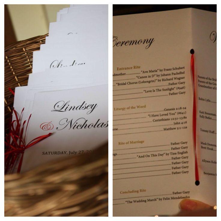 realtree wedding invitations%0A Ceremony programs