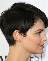 Lacey Brown Pixie Cut - Yahoo