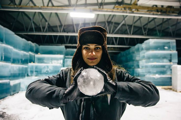 I kept telling #daaruum she looks like the girl from Frozen.. or an evil Ice Queen with a magic fortunetelling ball. You decide below . I couldnt tell. Those are massive blocks of ice behind her btw! Ill explain later!! Or you can check us out on snapchat and Nilam will tell you straight away! #ellevant #ice #adamyourself