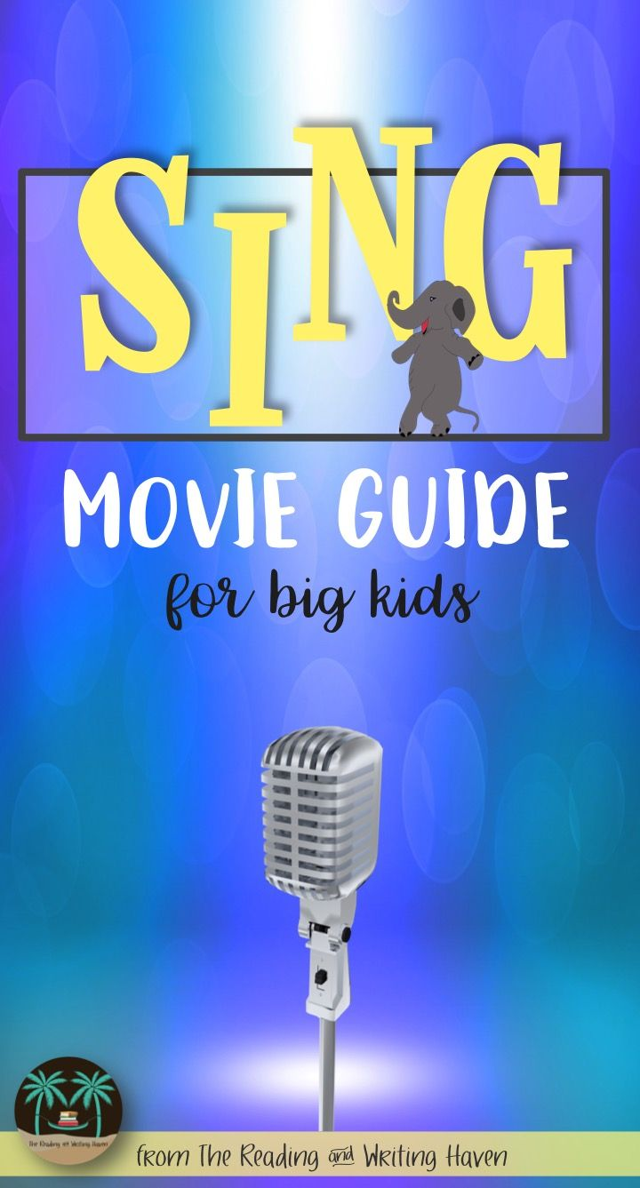 Have extra time to fill? Need sub plans? Want to engage students in a visual text comprehension and analysis assignment? Check out this Sing movie guide for middle and high school students...it's sure to be a crowd pleaser!