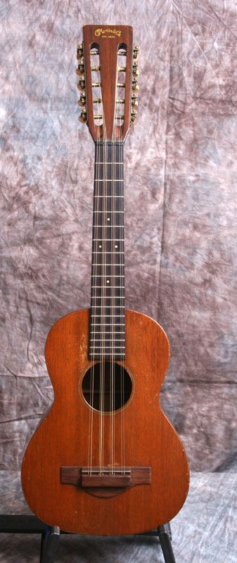 Not a Ukulele. This is a T-15 Martin Tiple. Tuned like a uke but with 10 strings.