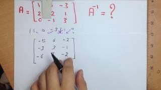 حساب معكوس المصفوفة 3x3 - الانفرس - Inverse of a Matrix http://ift.tt/2G2KXA0 دورة جبر خطى شرح المصفوفات كورس ماتركس كورس مصفوفات Engineer Passion